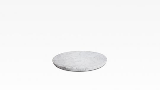 Auflageplatte 38 | Carrara Marmor poliert