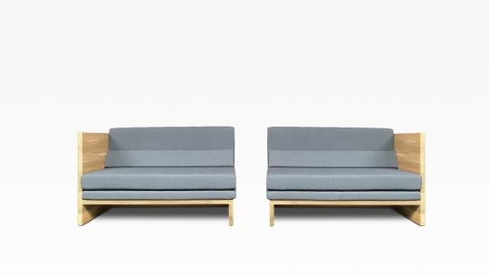 DIVAN-150-R+150-L    Divan Sofa