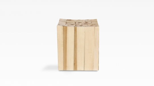 der STER | piled meter stool, side table, object