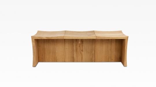 TERA Modular Set II | 3 seater bench, oiled oak