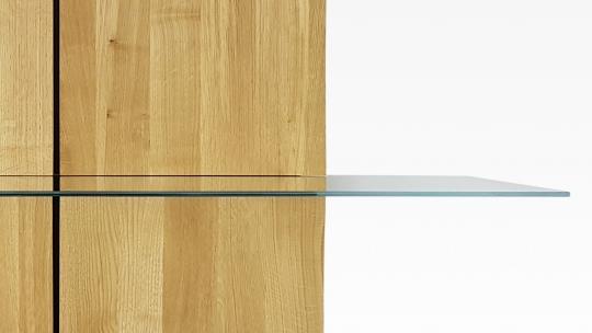 deutsu m nchner m belmanufaktur tera nami regal 2x2 modulares regal eiche ge lt mit 1. Black Bedroom Furniture Sets. Home Design Ideas