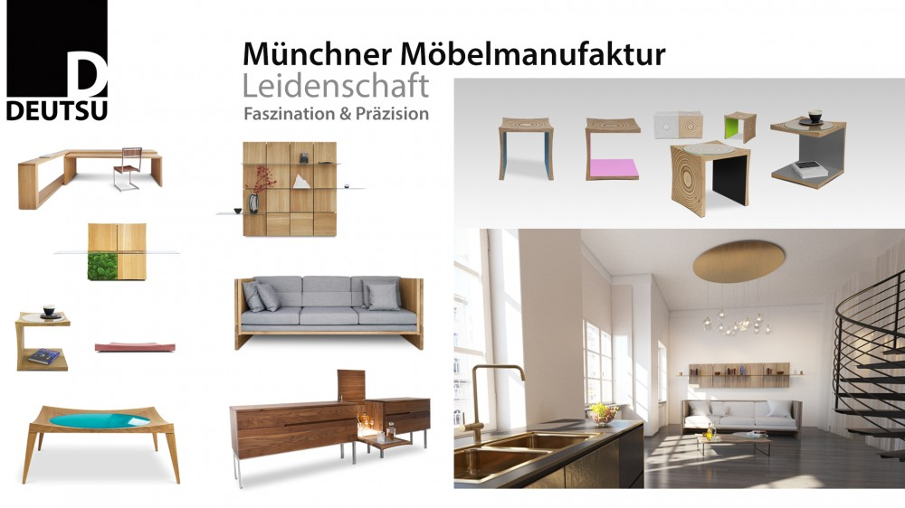 deutsu m nchner m belmanufaktur der onlineshop f r. Black Bedroom Furniture Sets. Home Design Ideas